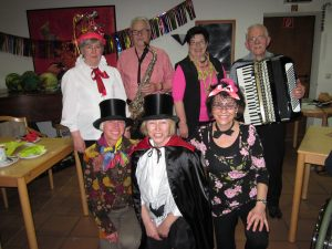 Fasching mit den Rothenburger-Stadträtinnen